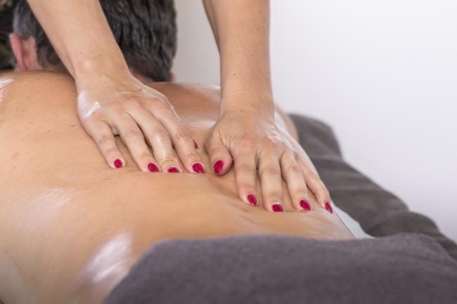 Massage sensitif du centre de massage Le Bien Etre.